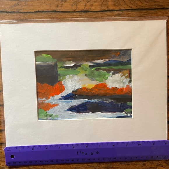 Original Painting John Ager Unframed abstract